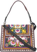 Etro floral print shoulder bag