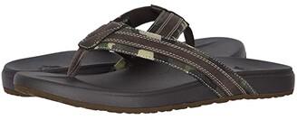 Dockers Fletcher (Camo/Dark Brown) Men's Sandals
