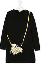 Little Marc Jacobs Teen purse print T-shirt dress