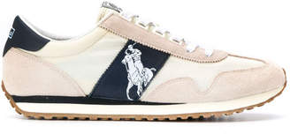 Polo Ralph Lauren Leather Polo Logo Sneakers