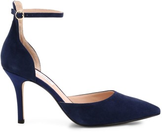 Saks Fifth Avenue Kristine Ankle-Strap Suede Pumps