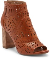 Restricted Jenice Laser-Cut Peep Toe Bootie