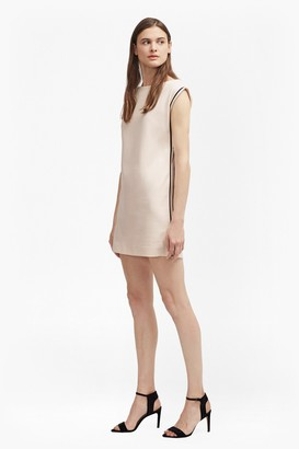 French Connection Lula Stretch Zip Tunic Dress