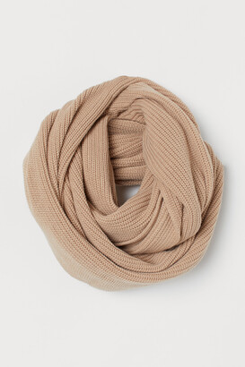 H&M Ribbed Tube Scarf