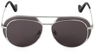 Loewe 57MM Browline Aviator Sunglasses