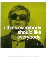 Poster Revolution Everybody Collections Art Poster Print by Andy Warhol, 11x14