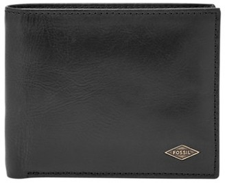 Fossil Ryan Rfid Passcase Wallet Black