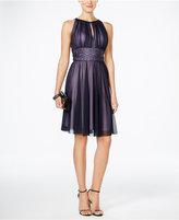 Jessica Howard Petite Embellished Keyhole Dress
