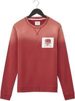 Kent & Curwen Red Appliquéd Loopback Cotton Sweatshirt