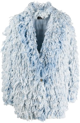 Alanui Oversized Textured Coat