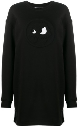 McQ Swallow Chester Monster Sweatshirt Dress
