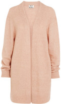 Acne Studios Raya Oversized Knitted Cardigan - Blush