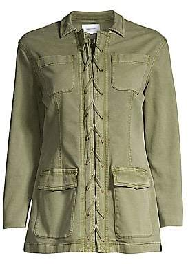 Current/Elliott Women's The Laced Jacket