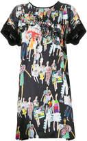 Tsumori Chisato fashion model print dress