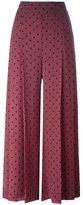 See by Chloe polka dot print trousers