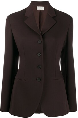 The Row Risa fitted jacket
