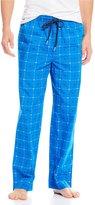 Lacoste Signature Print Woven Pajama Pants
