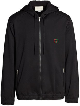 Gucci Oversize Technical Jersey Hoodie