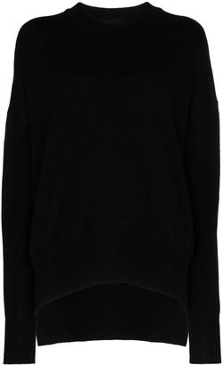 Jil Sander Oversized Caround Necshmere Sweater