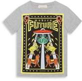 Gucci Little Boy's & Boy's Modern Future-Print Cotton T-Shirt