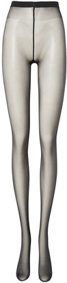 Burberry Monogram Motif Seamed Tights