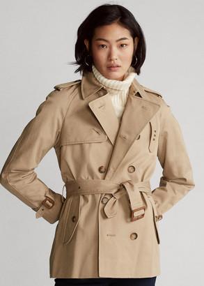 Ralph Lauren Twill Belted Trench Coat