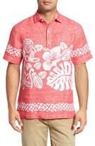 Tommy Bahama 'Tiki Time Breezer' Linen Camp Shirt