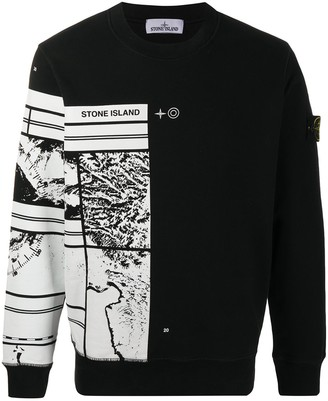 Stone Island Mural Part 3 cotton sweatshirt