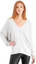 Sole Society LS Slouchy Wedge Top
