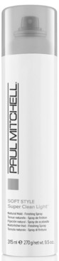 Paul Mitchell Soft Style Super Clean Light Finishing Spray, 10-oz, from Purebeauty Salon & Spa