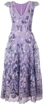 Thumbnail for your product : Marchesa Notte floral A-line dress