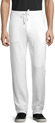 Versace Logo Patch Cotton Sweatpants