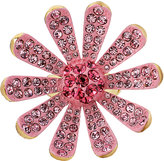 Betsey Johnson Flower Boost Pave Ring