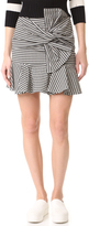 Veronica Beard Picnic Bow Miniskirt