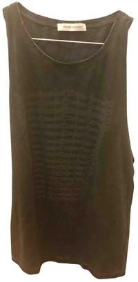 Pierre Balmain Black Cotton Top for Women