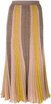 Missoni glitter striped skirt