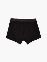 Comme des Garcons CDG Shirt x Sunspel Black Cotton Trunks