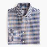 J.Crew Ludlow Slim-fit spread-collar shirt in microgingham