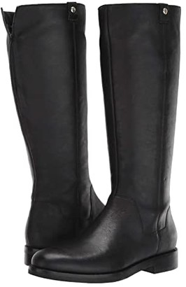 Cole Haan Calissa Riding Boot (Black Leather) Women's Shoes