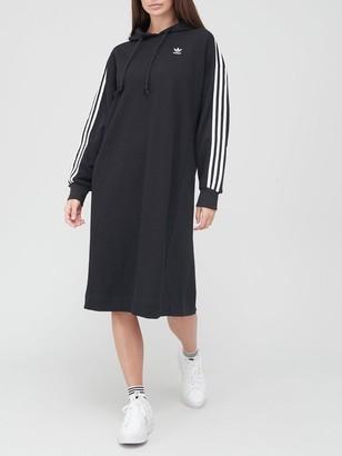 adidas Hoodie Dress - Black