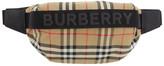 Burberry Beige Medium Check Sonny Pouch
