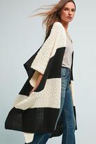Anthropologie Mixed Stripes Kimono