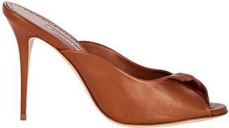 Manolo Blahnik Aliar Twisted Leather Sandals