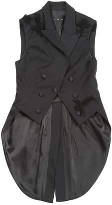 John Richmond Black Wool Jackets