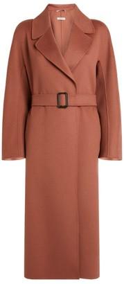 Max Mara Belted Wool Reus Coat