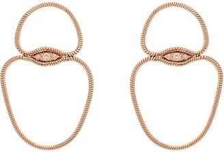Fernando Jorge Fluid Diamonds Small Chain Earrings