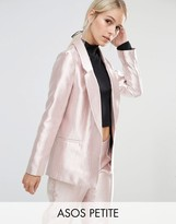 Asos Ultimate Pink Metallic Blazer