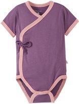 Baby Soy Kimono Bodysuit (Baby) - Eggplant-18-24 Months