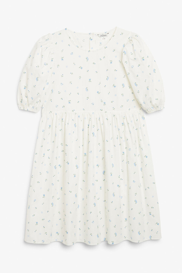 Thumbnail for your product : Monki Puff sleeve dress