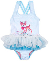 Rock Your Baby Girls Doe A Deer Tulle One Piece (3 - 24M)